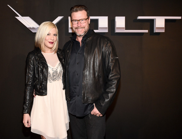 Dean McDermott with Fru