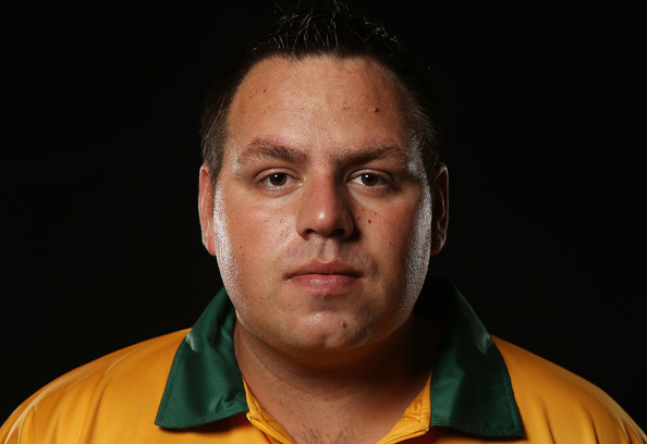 Il 32-anni, 180 cm alto Adrian Lewis in 2018 photo