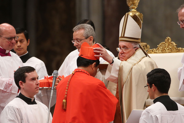 Charles Maung Bo Pictures - Pope Francis Appoints Twenty New Cardinals ...