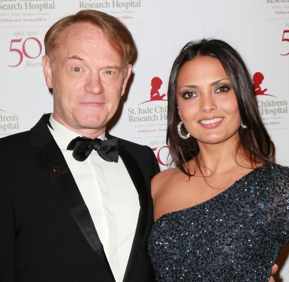 Jared Harris med Fru Allegra Riggio