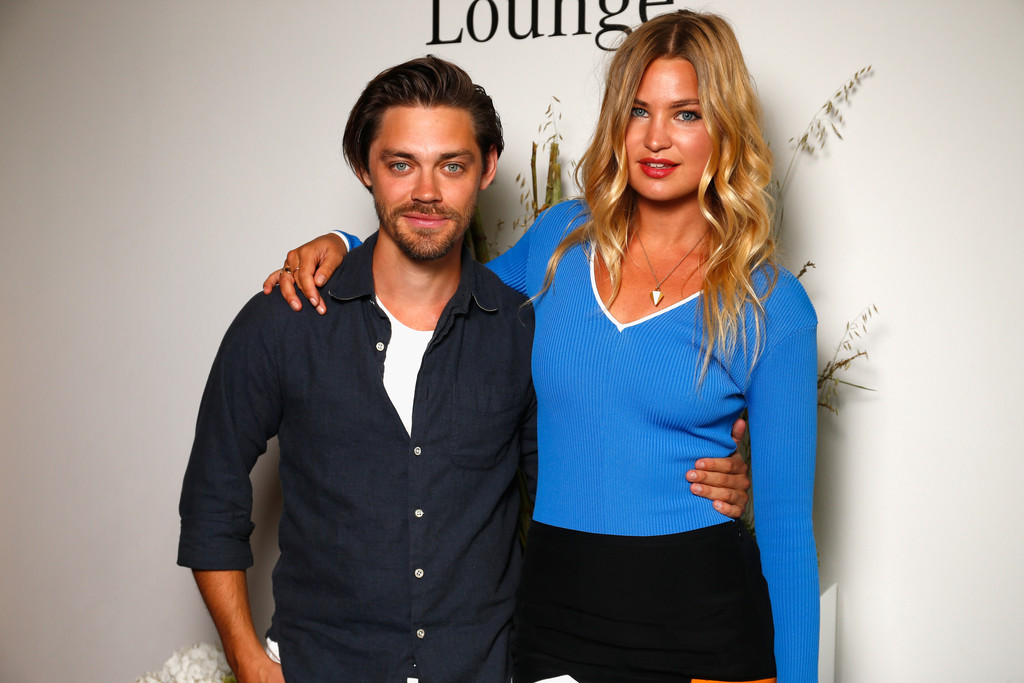 Tom Payne with Girlfriend Jennifer Åkerman