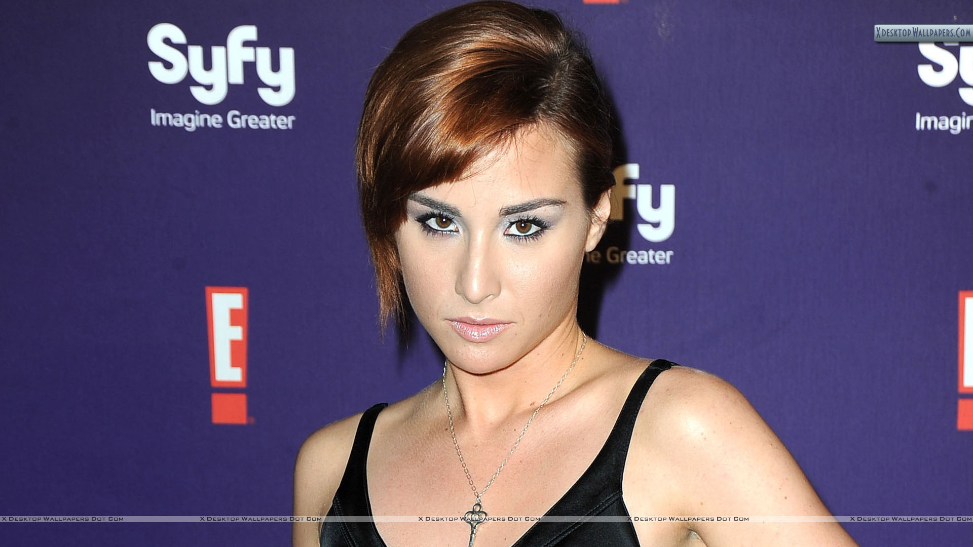 The 26-year old daughter of father (?) and mother(?), 169 cm tall Allison Scagliotti in 2017 photo