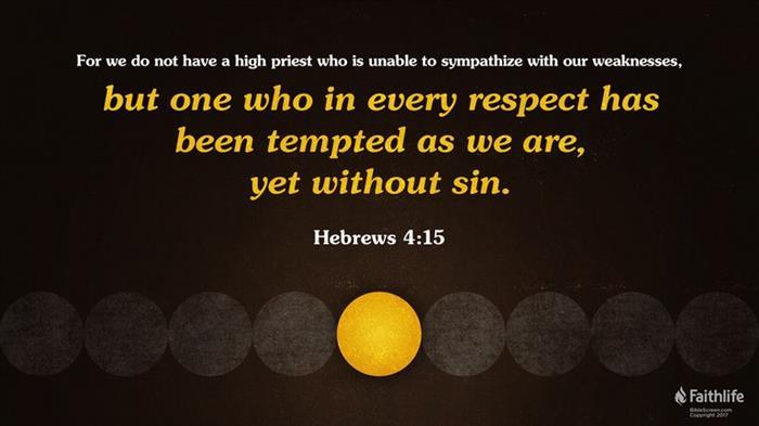 Hebrews 4:15-16