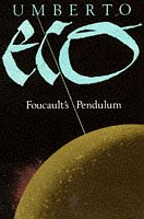 Cover of foucault's pendulum
