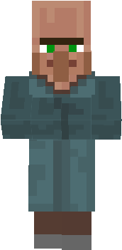 Blue Villager (Policeman/Fisherman)
