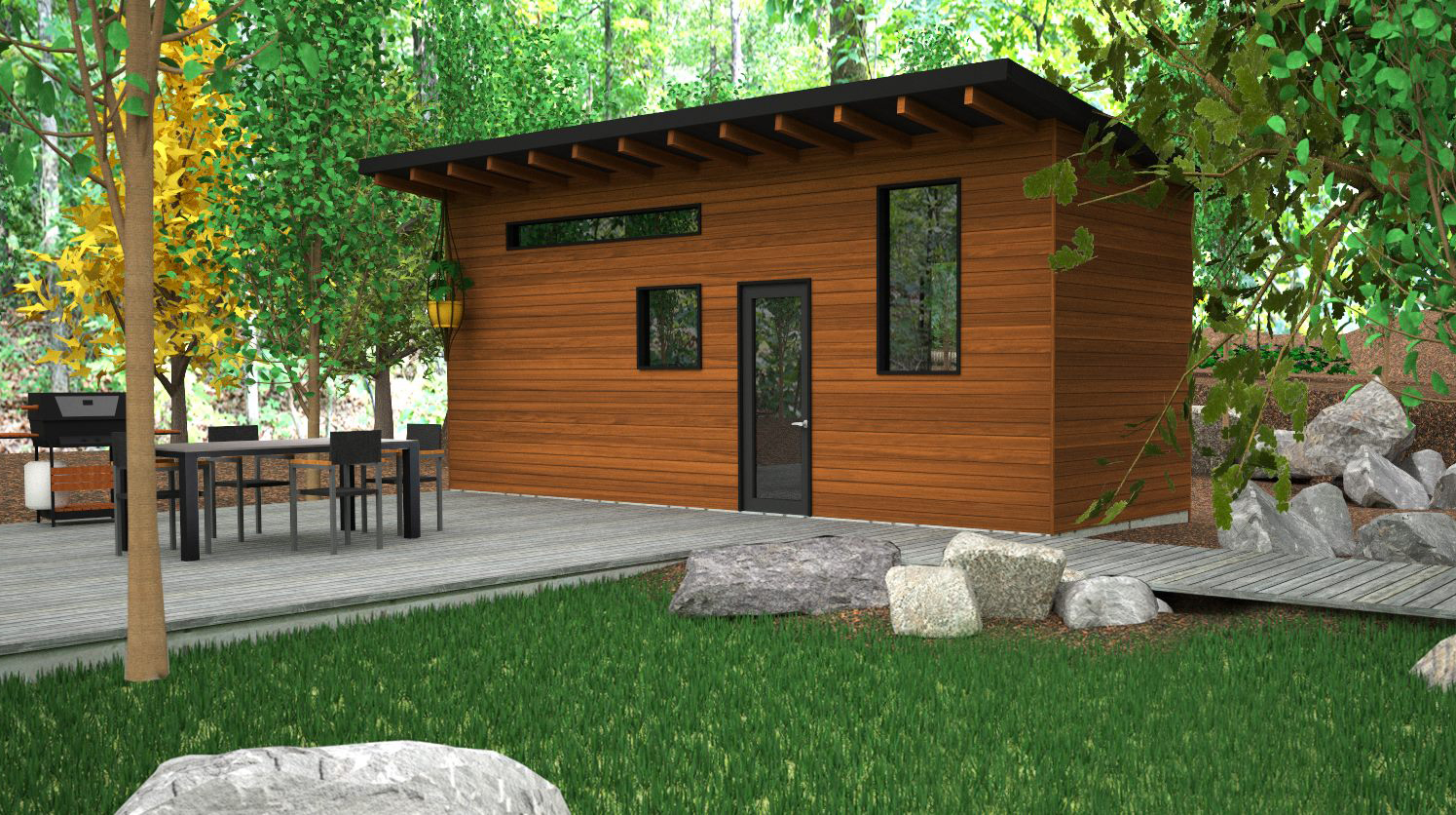 The Atelier Praxis Tiny House By Minimalist - TINY HOUSE TOWN