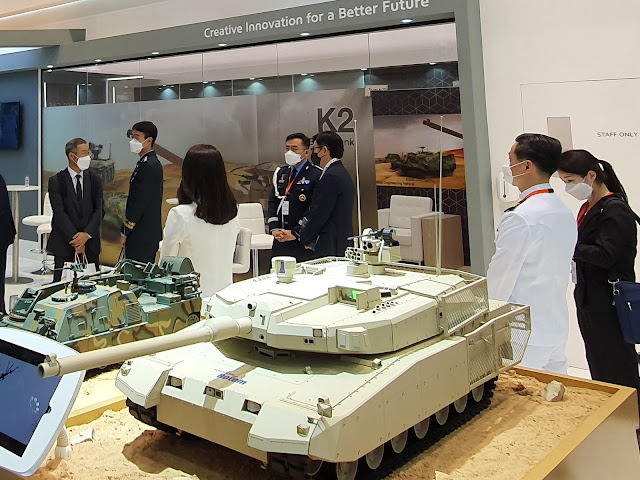 The Dead District: A K2M, the new K2 variant, at IDEX 2021