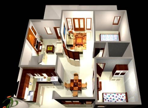 12 Model Denah Rumah Minimalis 1 Lantai Type 36 - Desain ...
