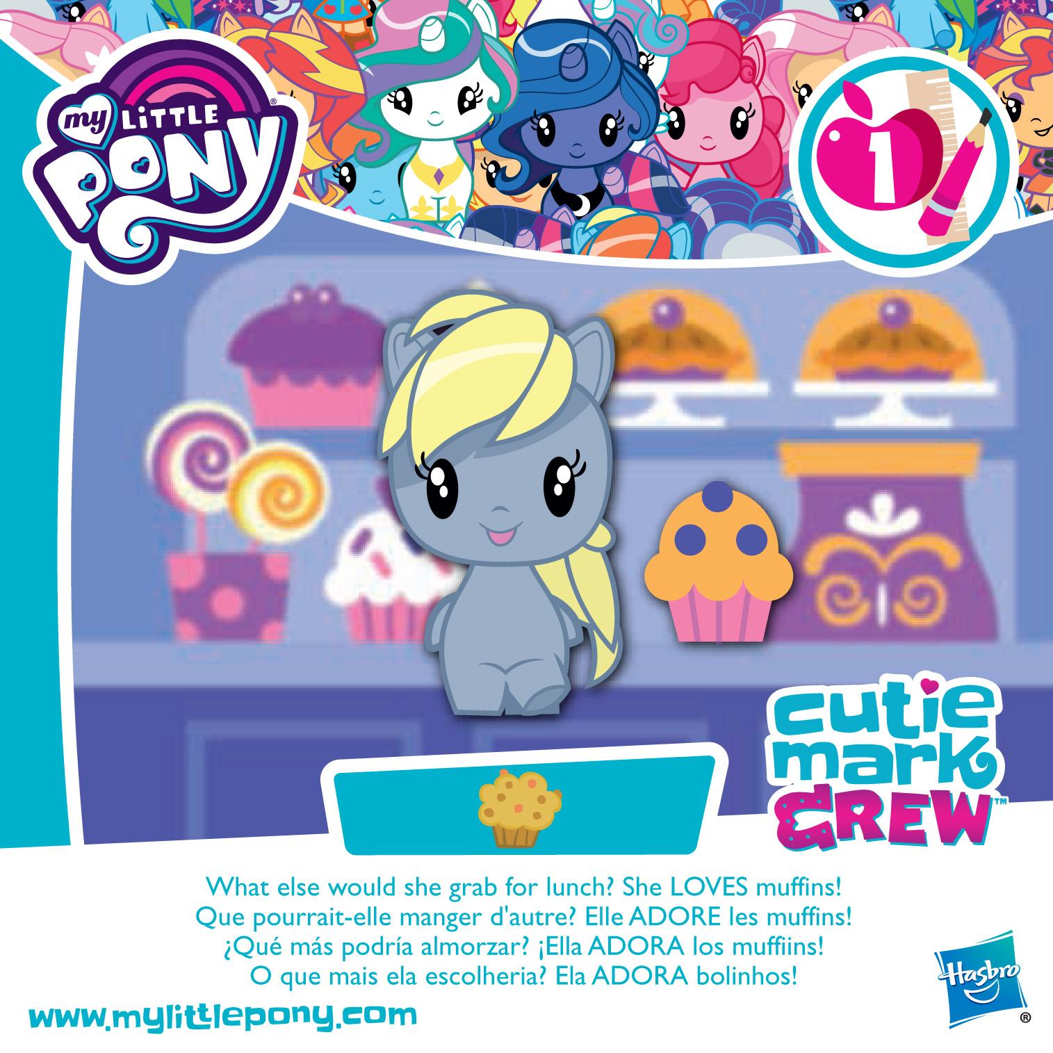 My Little Pony Derpy Cutie Mark