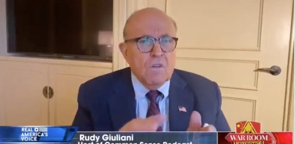 Rudy Giuliani Claims Trump Team Uncovered Enough Unlawful ...