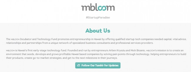 Tech fund for Hawaii startups mbloom LLC closes $10M early ...