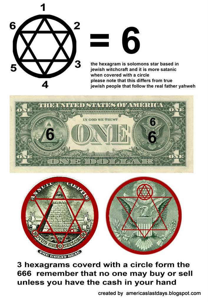 Prophecy: Hidden Symbolism of the Dollar - cambraza