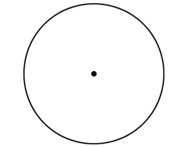 Popular Middle of the Circle Optical Illusion   Genius Puzzles