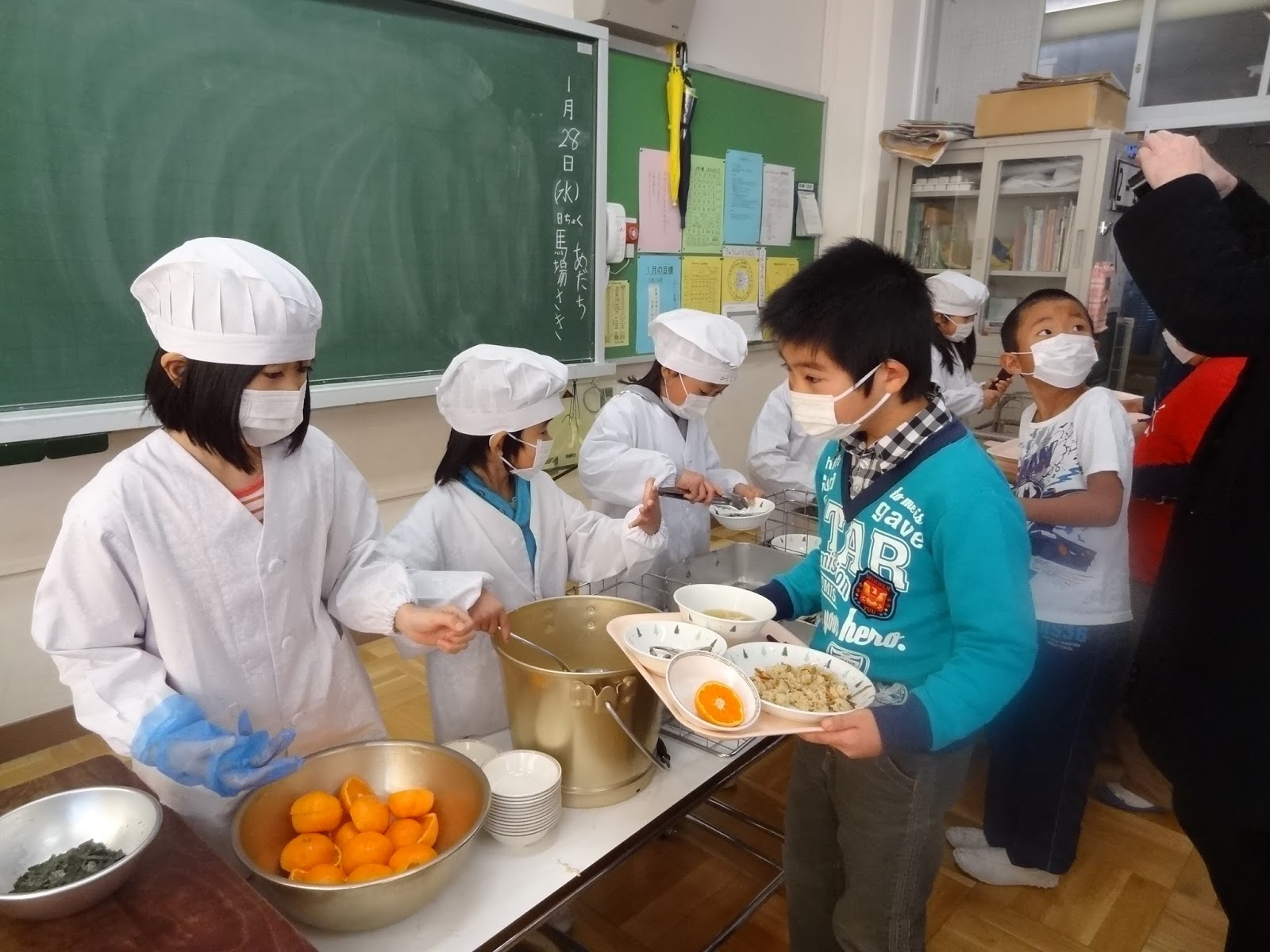 Walking and Talking: Talking Japanese School Lunches on Heritage Radio Network