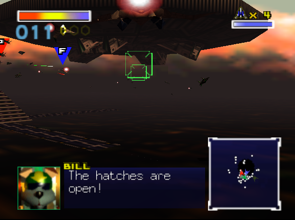 SuperPhillip Central: Top Ten Star Fox Series Boss Battles