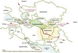 Geofinancial: Turkmenistan Pushing TAPI, the Original ...
