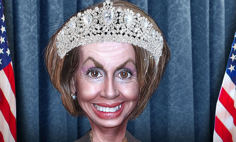 "Nancy Pelosi: House Royalty demanding to be ""Queen of Senate"""