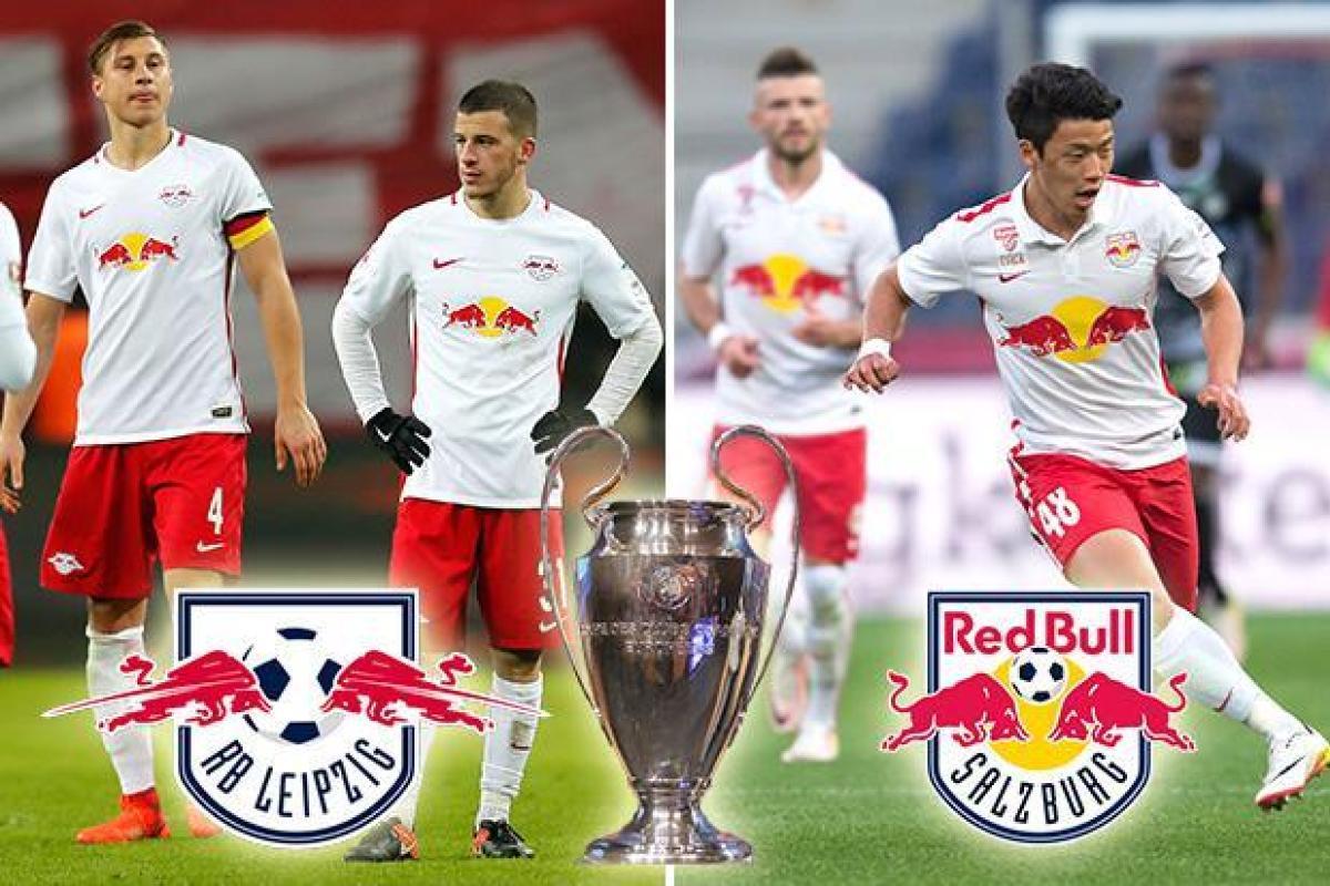 FC Red Bull Salzburg vs RB Leipzig - Logos, Kits, Names ...