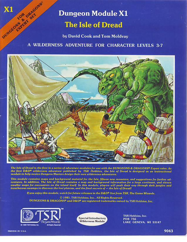 Quag Keep: D&D - X1: Isle of Dread