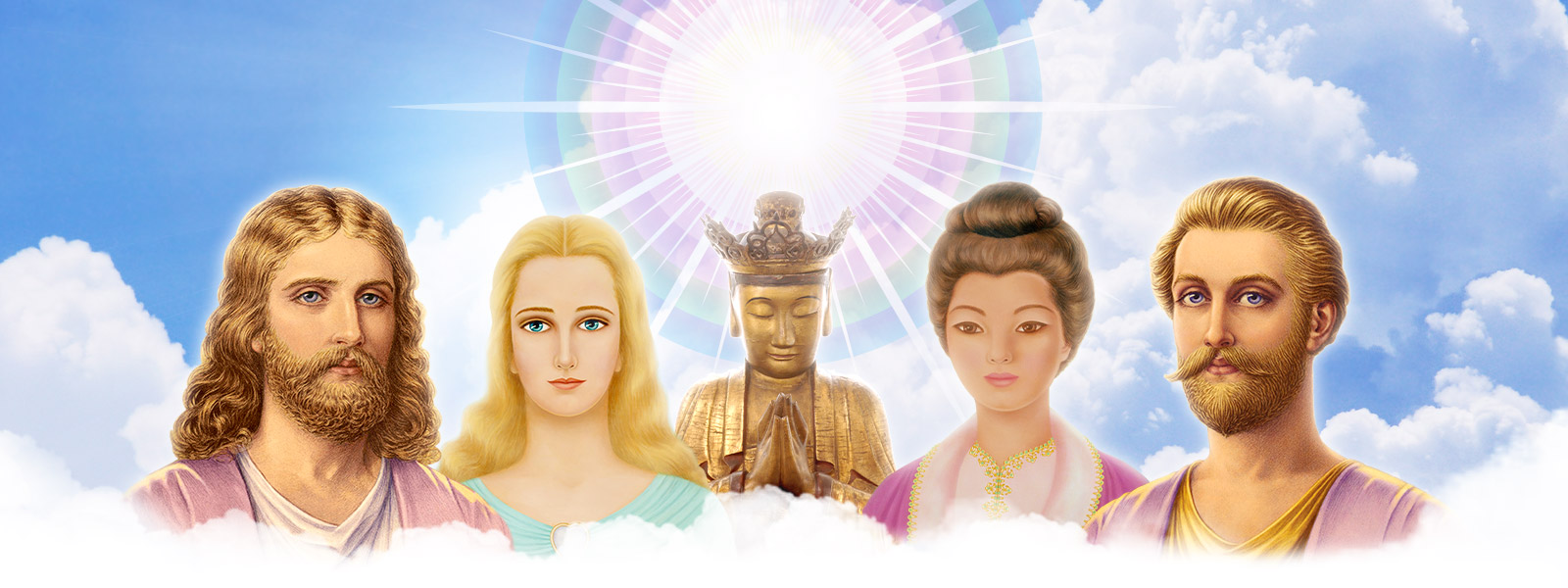 Ascended Masters - Chohans of the Seven Rays