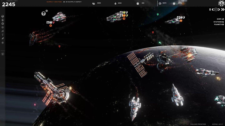 Falling Frontier - Screenshots