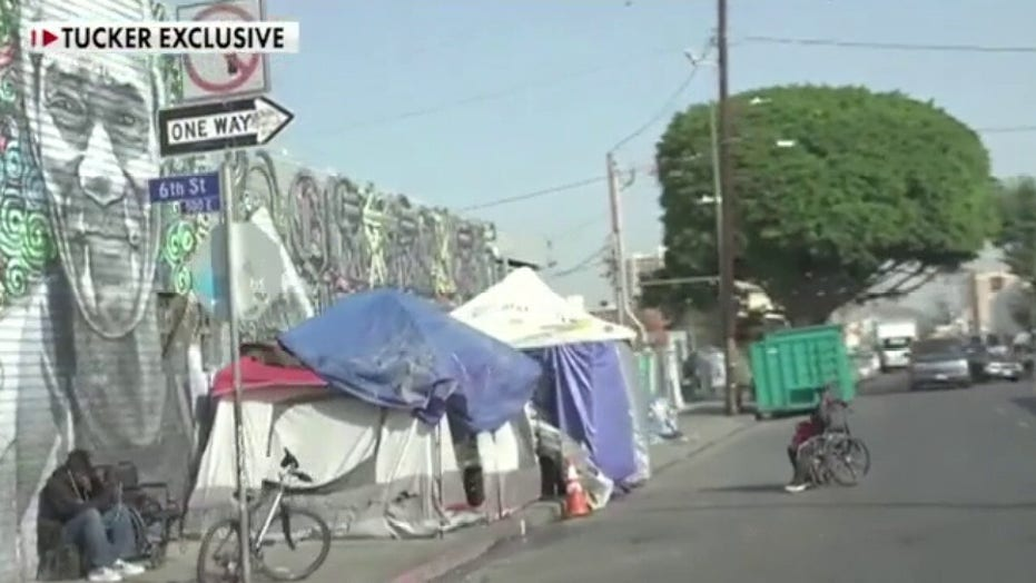 San Francisco neighborhood sues over 300 percent jump of homeless sidewalk tents during coronavirus outbreak…