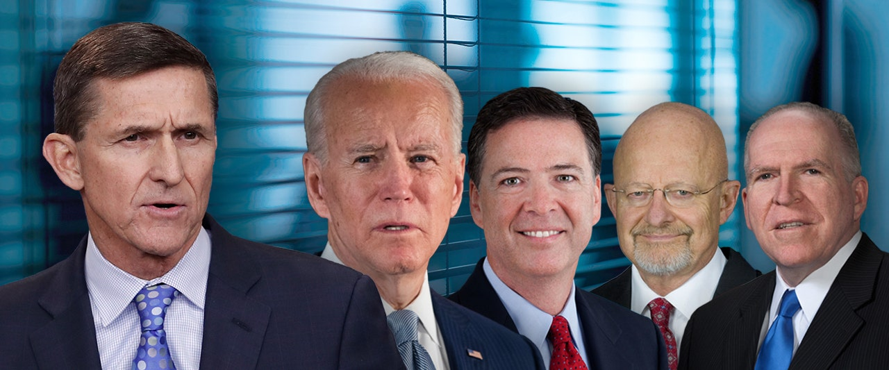Biden, Brennan, Comey revealed on secret list of officials who sought to 'unmask' Flynn…