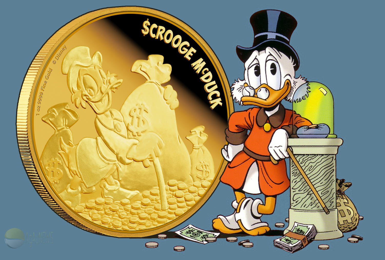 Web-footed skinflint, Scrooge McDuck, is the fourth in ...