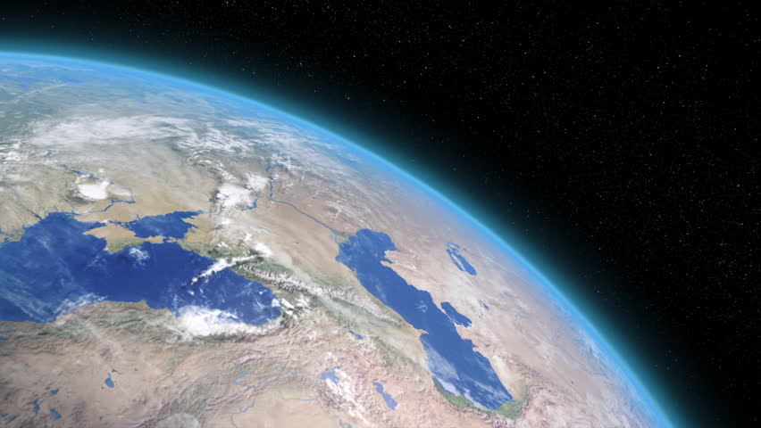 Close up of Rotating Earth Stock Footage Video (100% ...