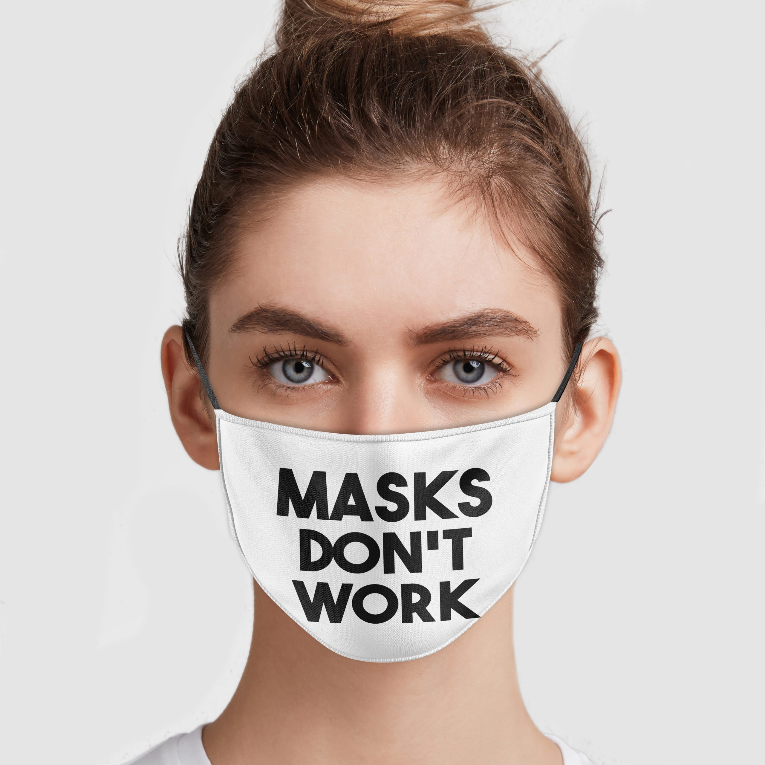 Mask Don't Work Face Mask | Allbluetees.com