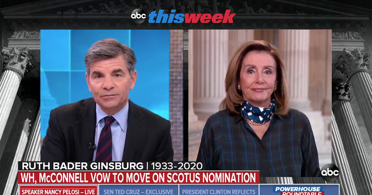 George Steaphnopoulos: Would Dems Impeach to Stall SCOTUS ...