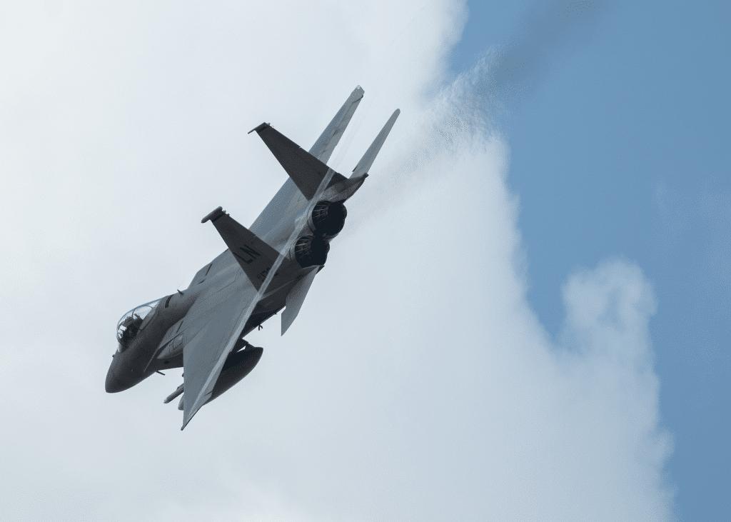 US F-15 fighter jet crashes into North Sea…