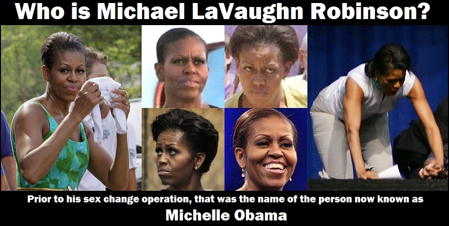 """Obama's kids """"adopted"""" to give the impression that """"Michelle ..."""