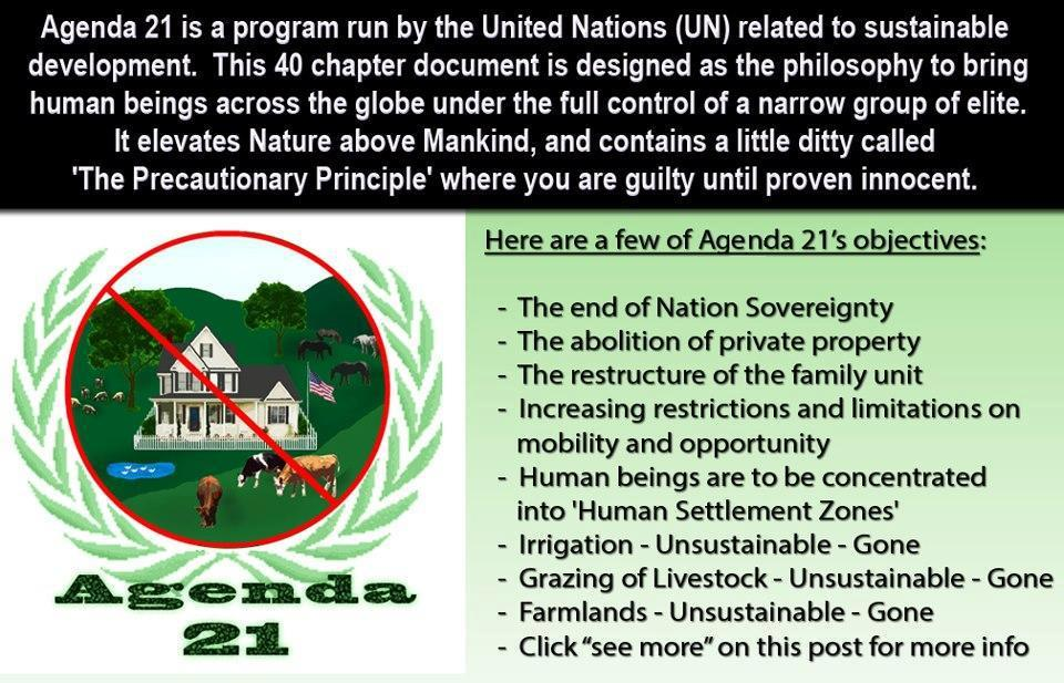 Re: Agenda 21 | Redwood Forest