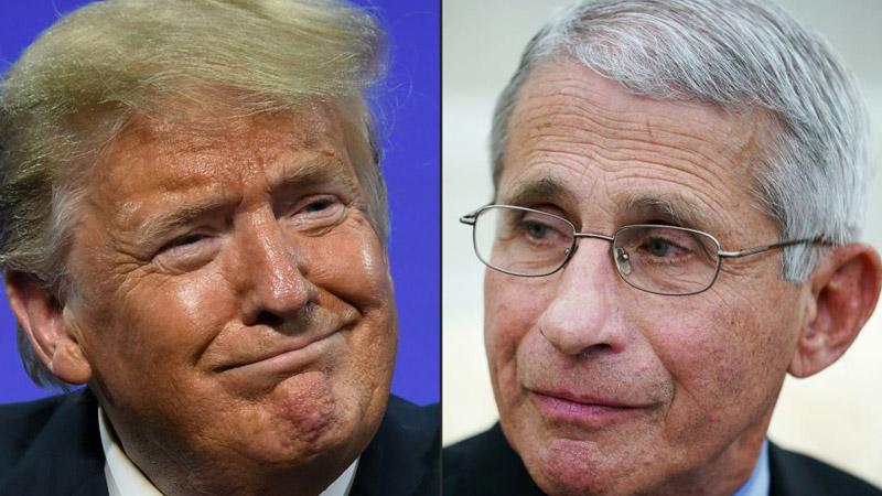 "Trump Slams Fauci on Campaign Call: ""Idiot,"" ""Disaster"""