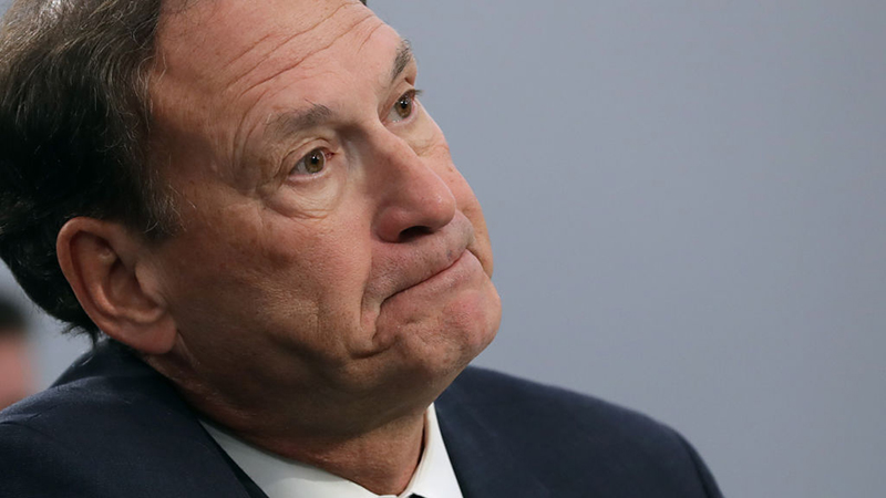 Justice Alito: Mail-in ballots received after Election Day ...