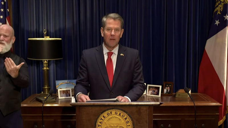 Georgia Governor Kemp Calls for Audit of Signatures on ...