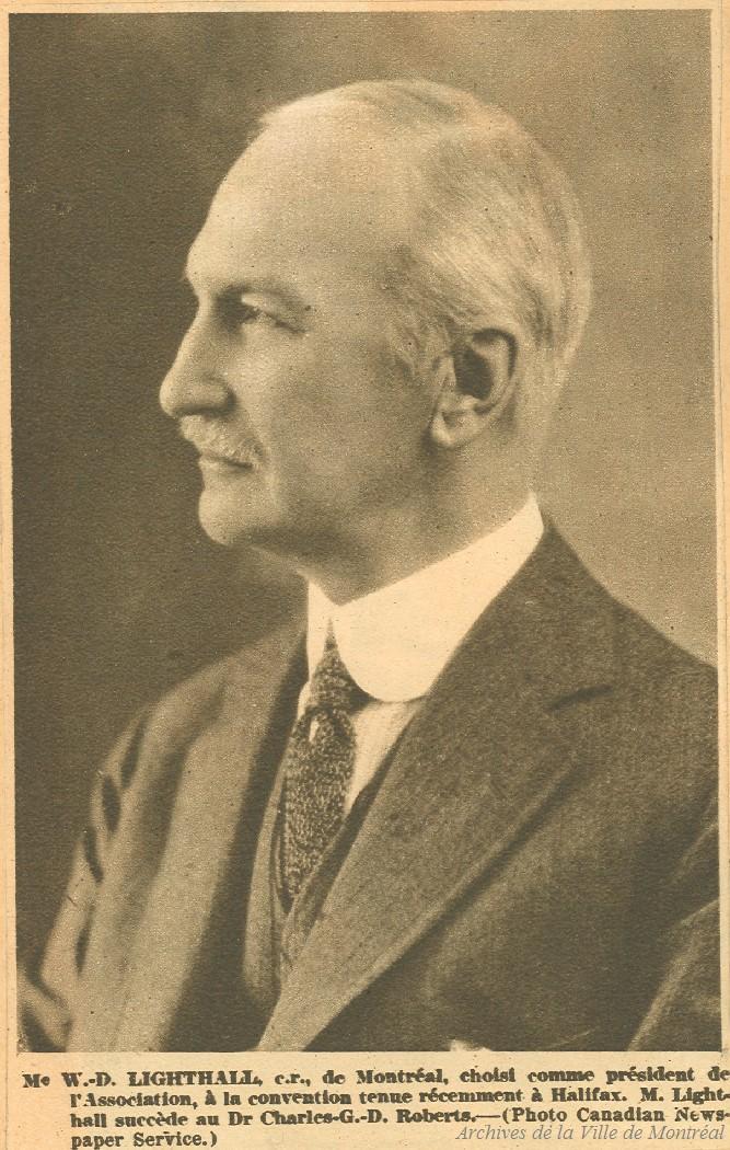 William Douw Lighthall . - [19-] - Archives de Montréal