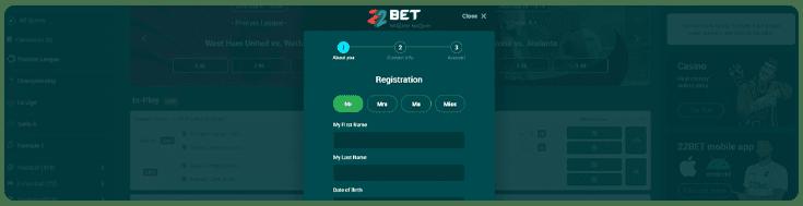 Registe-se no casino online 22bet.pt e pode participar em promoções e torneios
