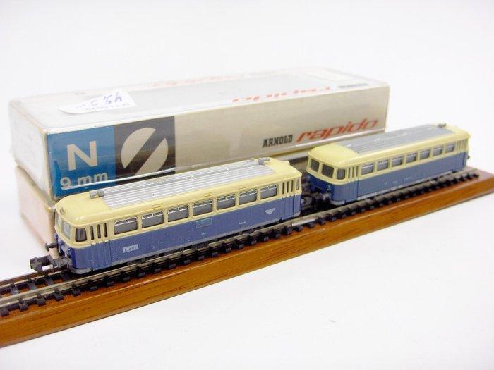 Arnold Rapido N - 0293/0394 - Railbus met bijwagen van de ...