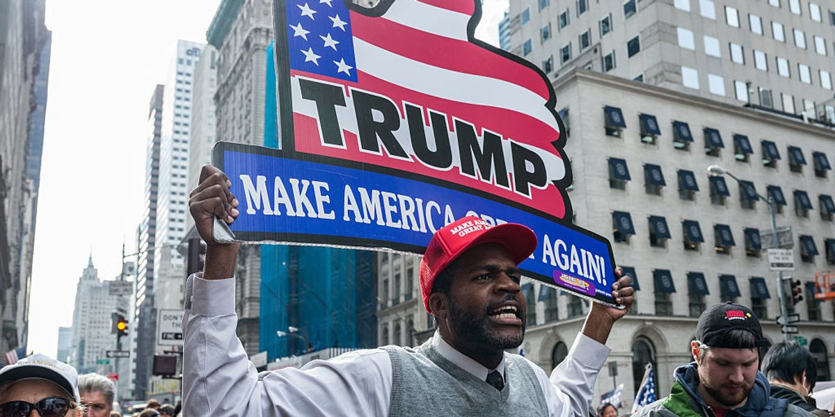 Rasmussen poll says 46% of black voters approve of ...