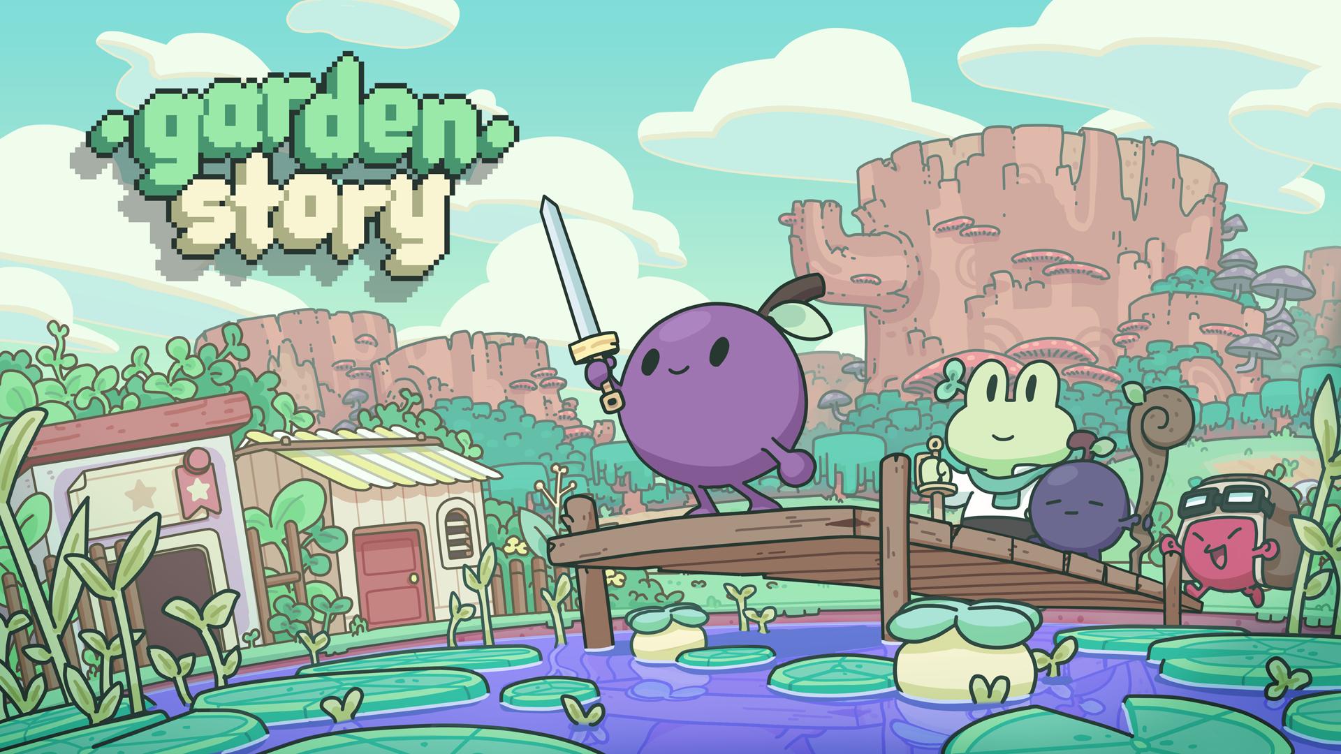 Garden Story is a fruity Social Simulator/Adventure RPG ...