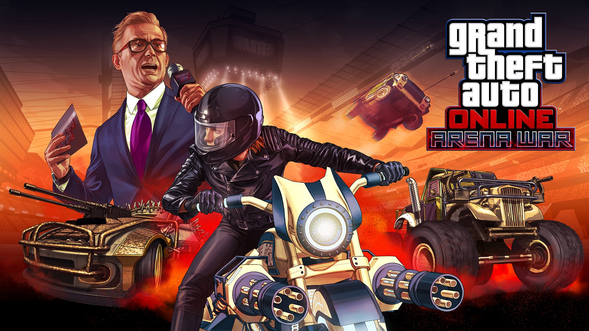 GTA Online Arena War adds 23 vehicles, 7 new modes today ...