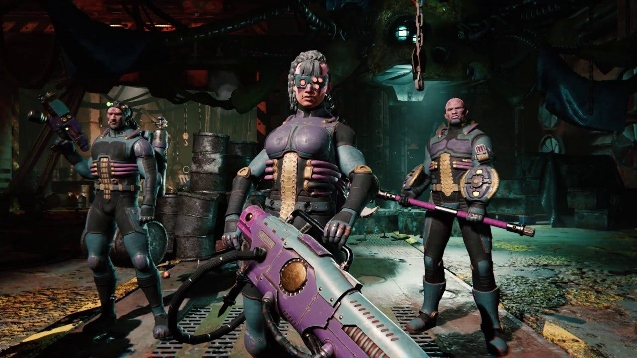 Necromunda: Underhive Wars - Van Saar Gang Trailer - IGN