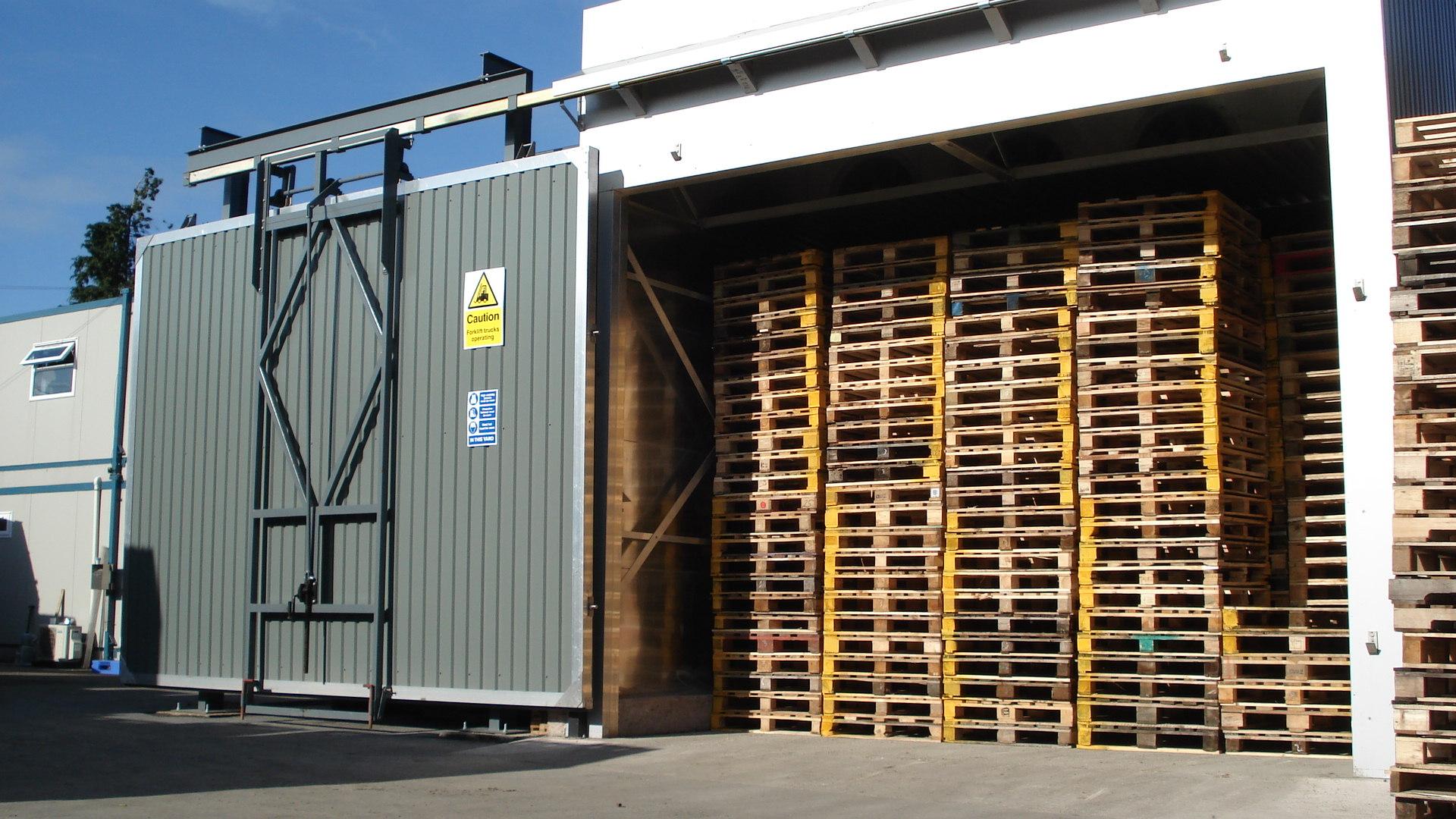 Heat Treated Pallets | ISPM15 Pallets | Associated Pallets