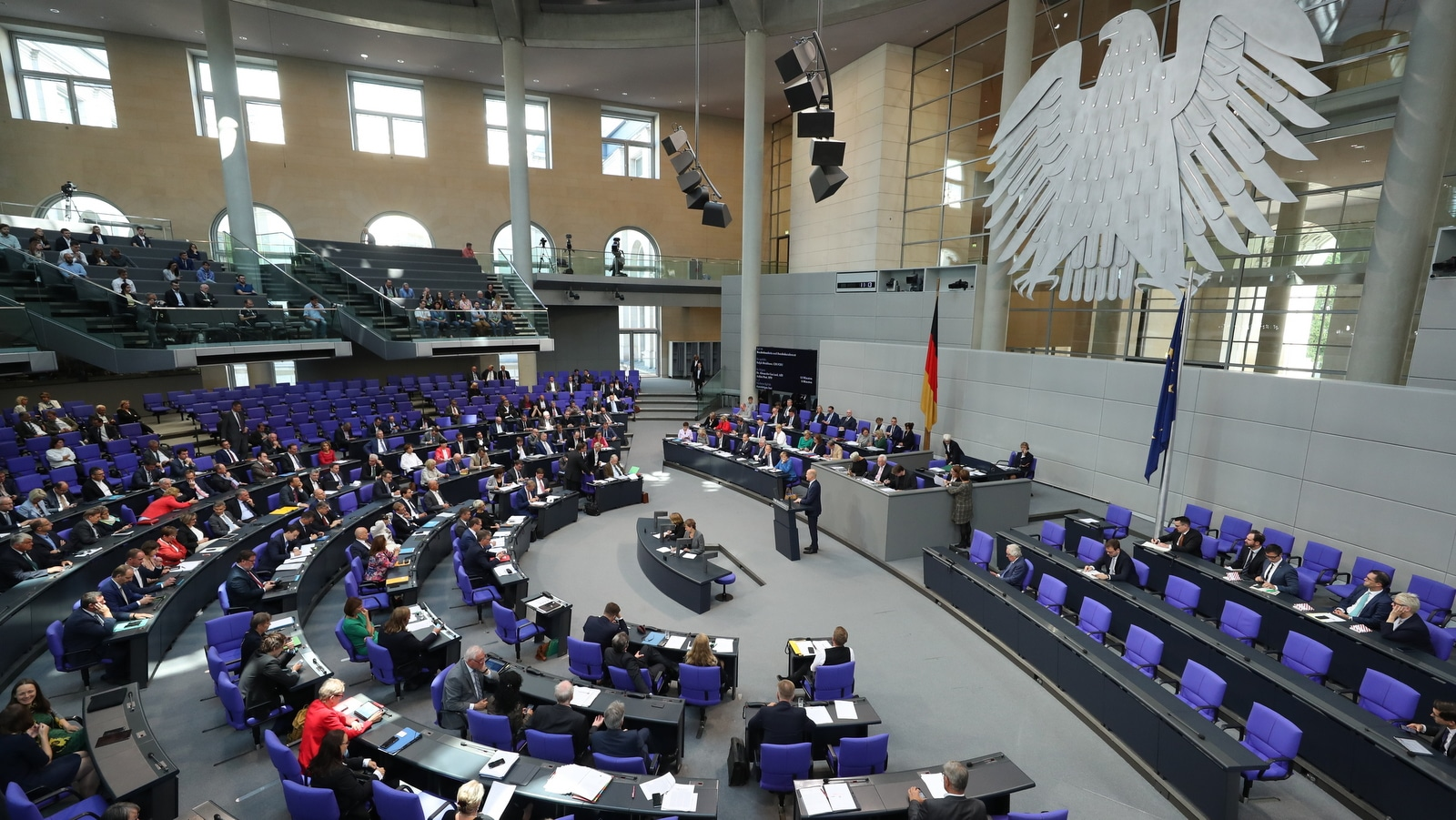 German Parliament Backs Albania, North Macedonia EU Talks ...