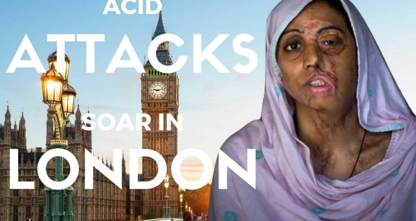 ACID ATTACKS BECOMING FASHIONABLE CRIME IN LONDON, POLICE ...