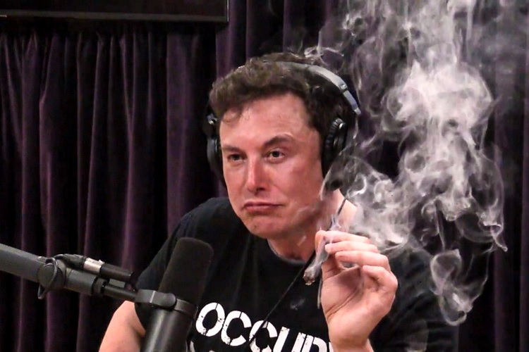 Weed, Whiskey and Electric Planes: Elon Musk Gets High ...