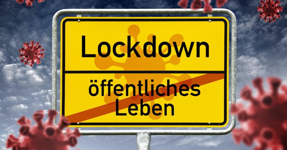 Der große Überblick : Lockdown: Welche Ausnahme in welchem ...
