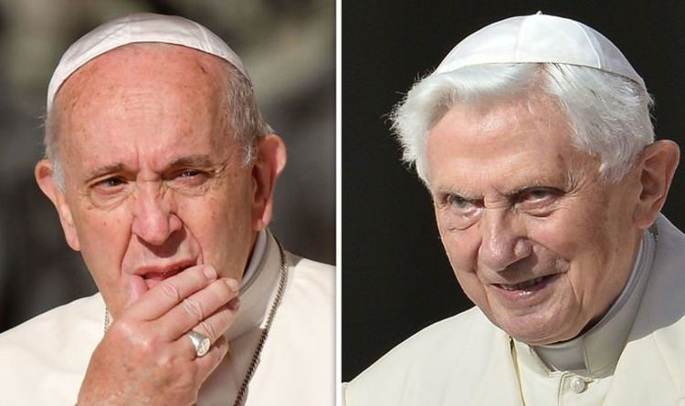 Pope Benedict 'plotting downfall of Pope Francis' in bombshell Vatican coup…